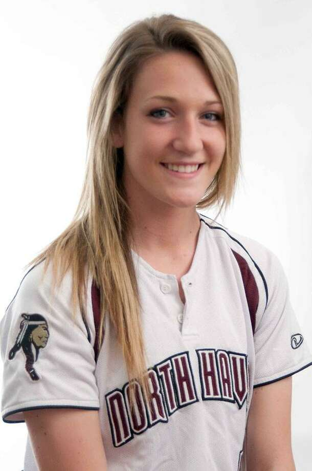 Arianna Pustaria North Haven softball player - Register athlete of the week. vm Williams 04.18.12