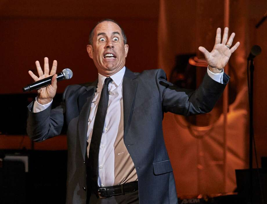 Jerry Seinfeld, seen here at Carnegie Hall, was the highest paid comedian over the past year, bringing in $69 million. Photo: Robert Altman, Associated Press