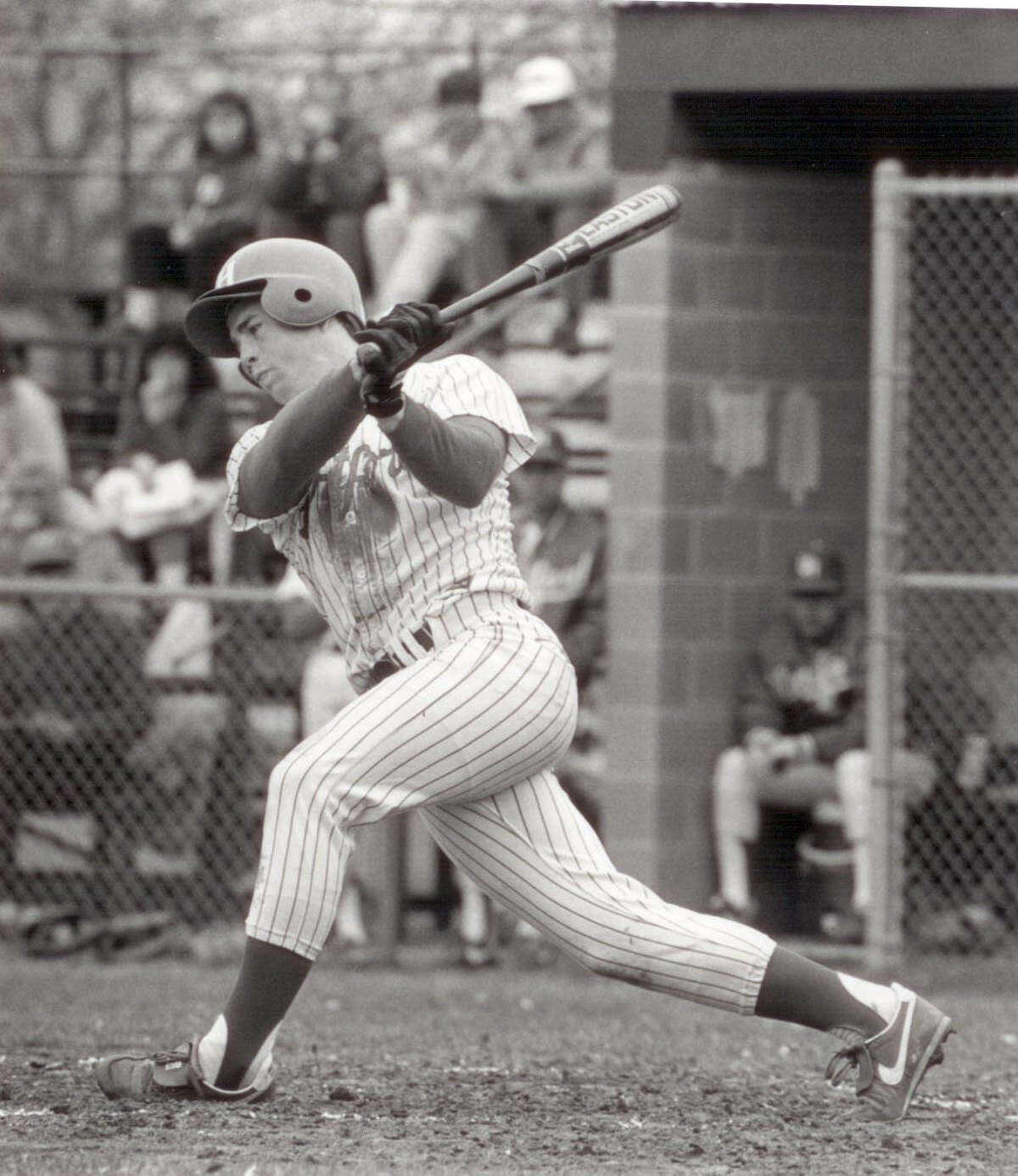 Over the course of his three seasons at the University of Hartford, Jeff Bagwell hit .413 with 31 home runs and 126 RBIs.