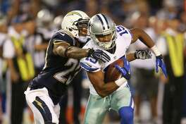 Dallas Cowboys wide receiver Devin Street #15 during an NFL game played at Qualcomm Stadium against the San Diego Chargers on Aug. 13,, 2015. (Michael Zito/AP Images for Panini)