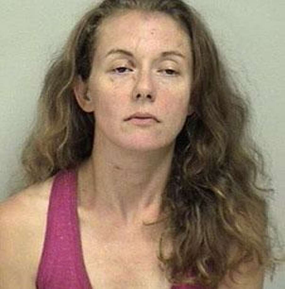 Cristin Towle, 35, of Bronx, New York, was charged with first-degree trespassing and threatening, Westport police said. Photo: Contributed Photo / Westport Police Department / Contributed Photo / Connecticut Post Contributed