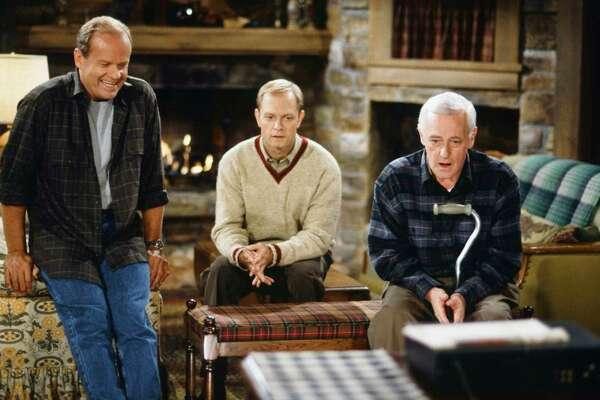 Kelsey Grammer, David Hyde Pierce and John Mahoney, Frasier | Photo Credits: NBC, NBC via Getty Images