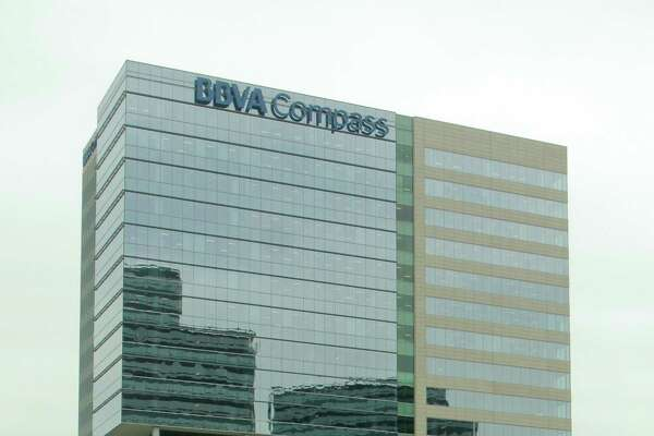 The  BBVA Compass office building in the Galleria area. (For the Chronicle/Gary Fountain, June 12, 2013)