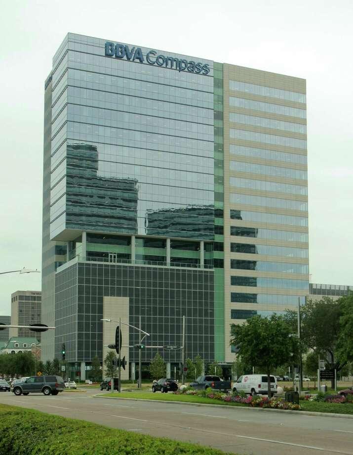 BBVA Compass Bancshares has its headquarters near Houston's Galleria. It has 1,400 local employees.  Photo: Gary Fountain, Freelance / Copyright 2013 Gary Fountain