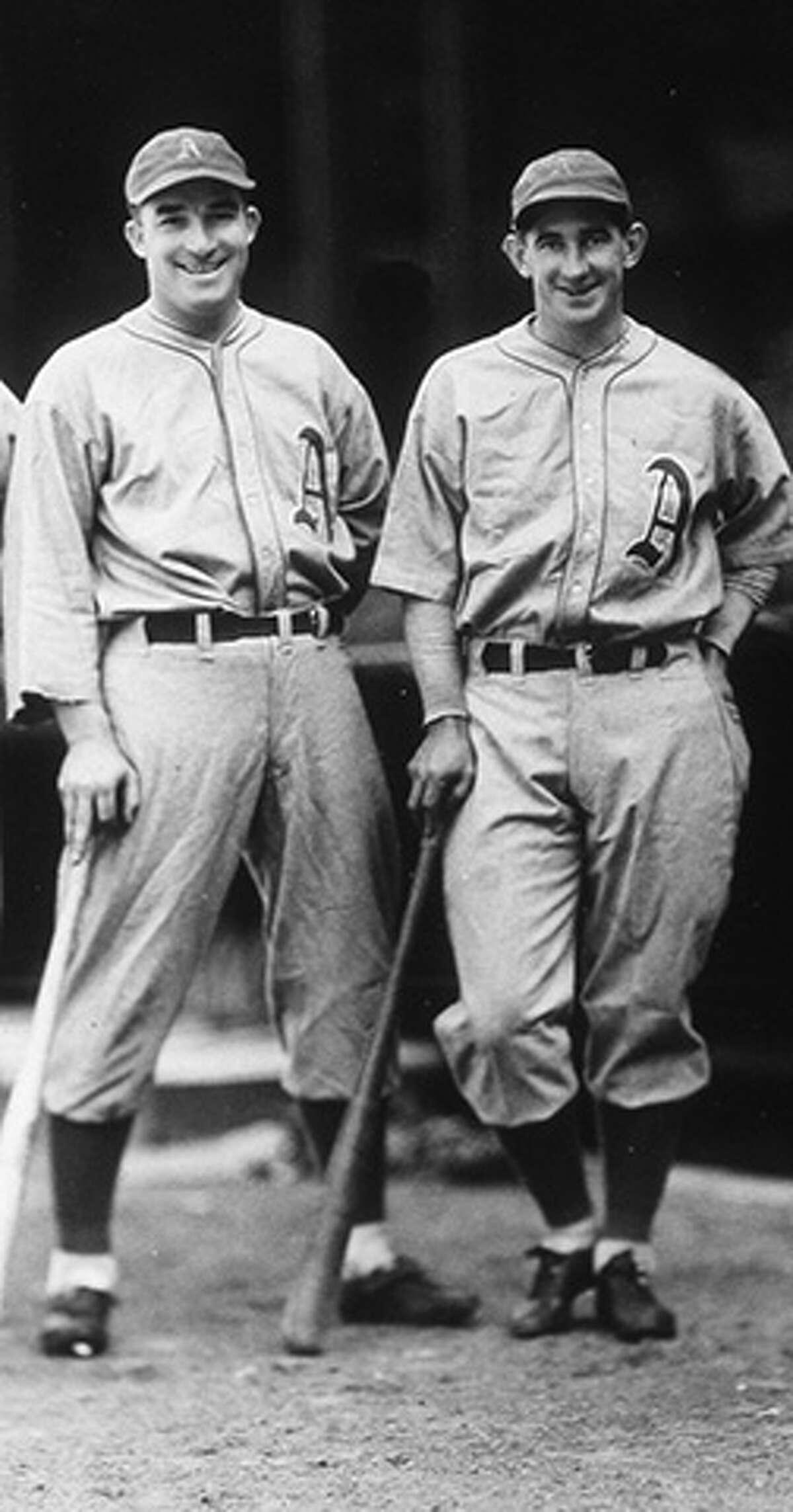 ALL-TIME BEST DUOS IN BASEBALL 28. Al Simmons (left)/Mickey Cochrane (right), 1925-32 Philadelphia Athletics Cumulative WAR:83.7 (27th) Average annual WAR:10.46 (20th)