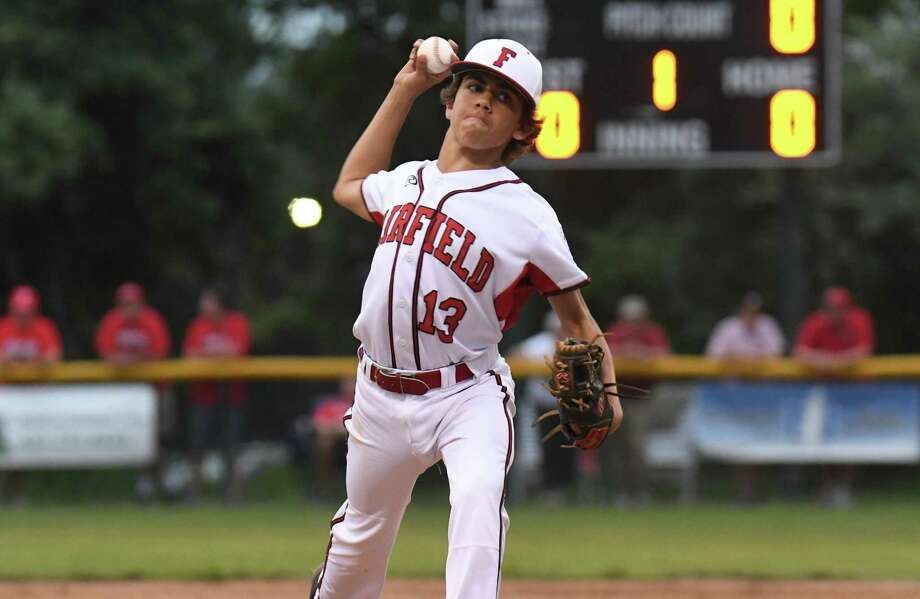 Fairfield American's Ethan Righter will start Friday's game against Wallingford in the state tournament opener. Photo: Gregory Vasil / For Hearst Connecticut Media / Connecticut Post Freelance
