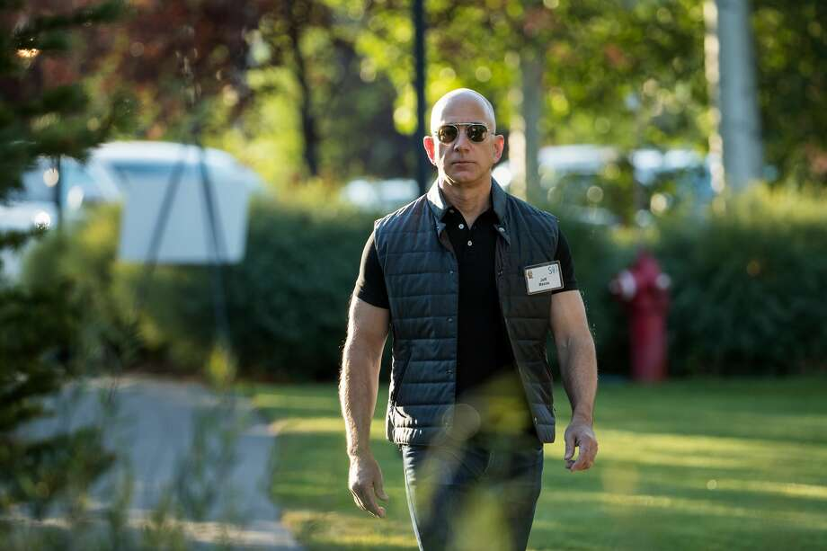 Jeff Bezos, chief executive officer of Amazon. Photo: Drew Angerer/Getty Images