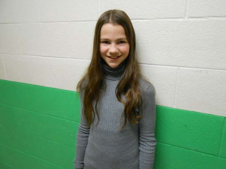 Submitted Photo Barkhamsted Elementary School sixth-grader Emma Lavery won the Litchfield County Superintendent Award.