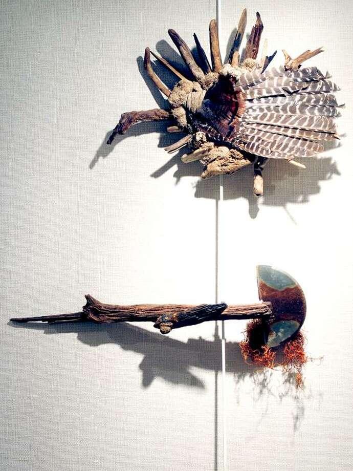 "Arnold Gold/Register photo: ""Turkey in Flight"" by Alan Horwitz."
