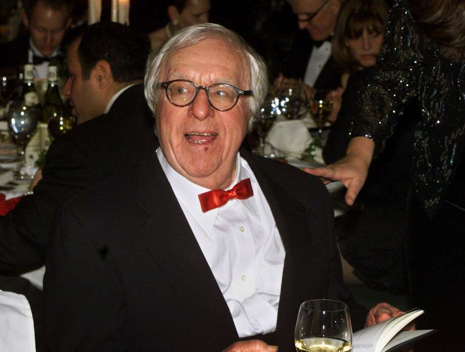 FILE - This Nov. 15, 2000 file photo shows science fiction writer Ray Bradbury at the National Book Awards in New York where he was given the Medal for Distinguished Contribution to American Letters. Bradbury, who wrote everything from science-fiction and mystery to humor, died Tuesday, June 5, 2012 in Southern California. He was 91.  (AP Photo/Mark Lennihan, file) Photo: AP / 2000 AP
