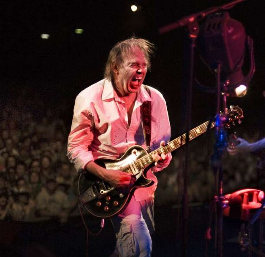 Larry Cragg photo: After the Tuesday show in Bridgeport, Neil Young heads to the Borgata Hotel Casino in Atlantic City Thursday for a Hurricane Sandy benefit.