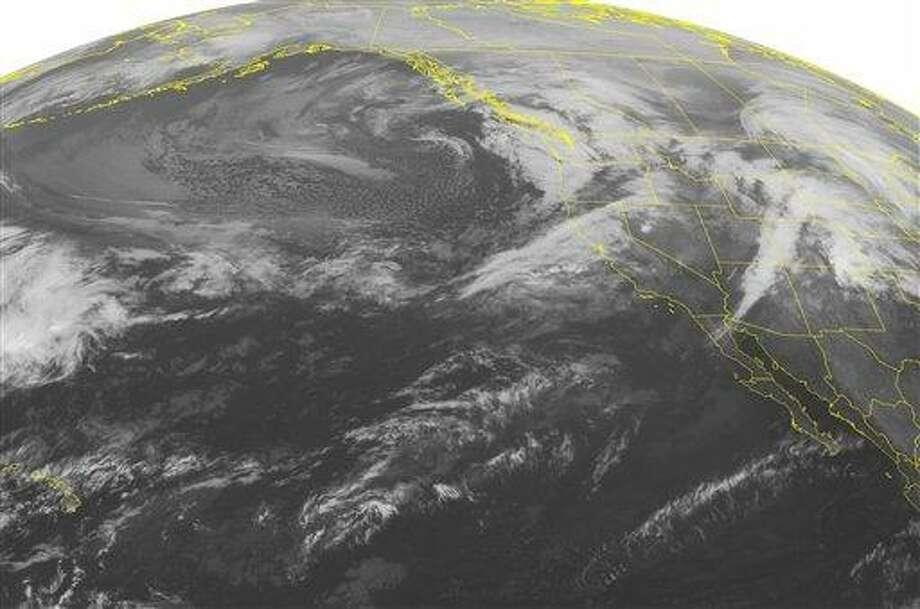 (AP Photo/Weather Underground) Photo: AP / WEATHER UNDERGROUND