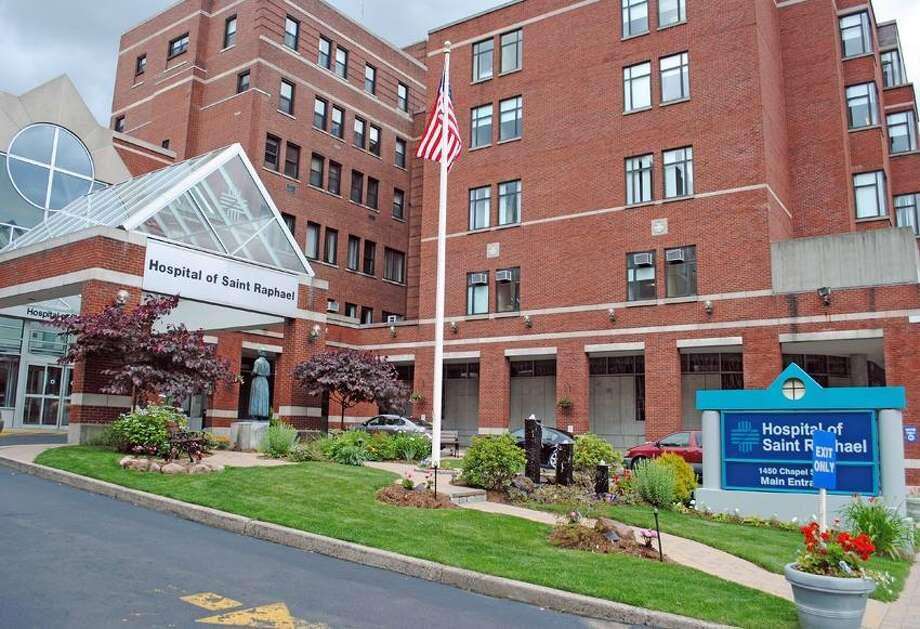 Hospital of Saint Raphael. Photo by Jen Fengler/For The New Haven Register