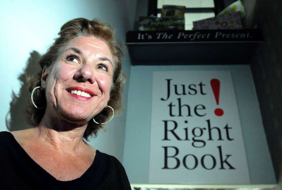 Roxanne Coady, owner of R.J. Julia Booksellers in Madison. Arnold Gold/Register file photo