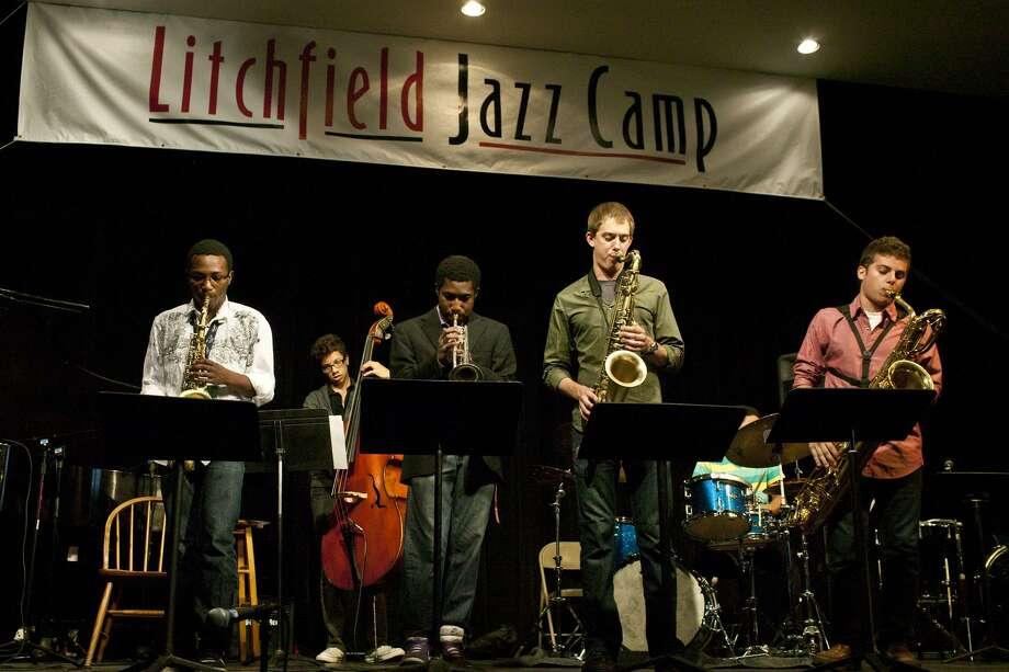 Submitted photo Litchfield Jazz Camp students perform during the 2011 season at the Kent School.