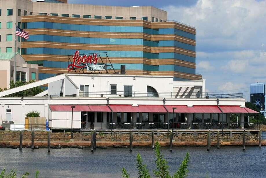 Leon's Restaurant in New Haven on Long Wharf Drive. Peter Hvizdak/Register file photo