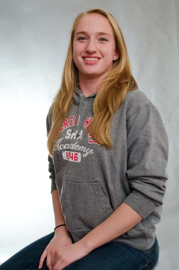 Female Athlete of the Week: Jamie Robinson, Sacred Heart Academy girls' swimming. Photo by vmWilliams.