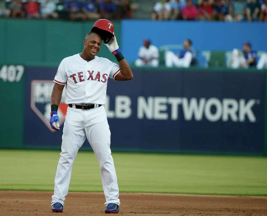 Adrian Beltre celebrated his 600th double about three weeks ago. Now, the veteran third baseman for the Texas Rangers is poised to become the 31st member of the 3,000-hit club. Photo: Michael Ainsworth, FRE / FR171389 AP