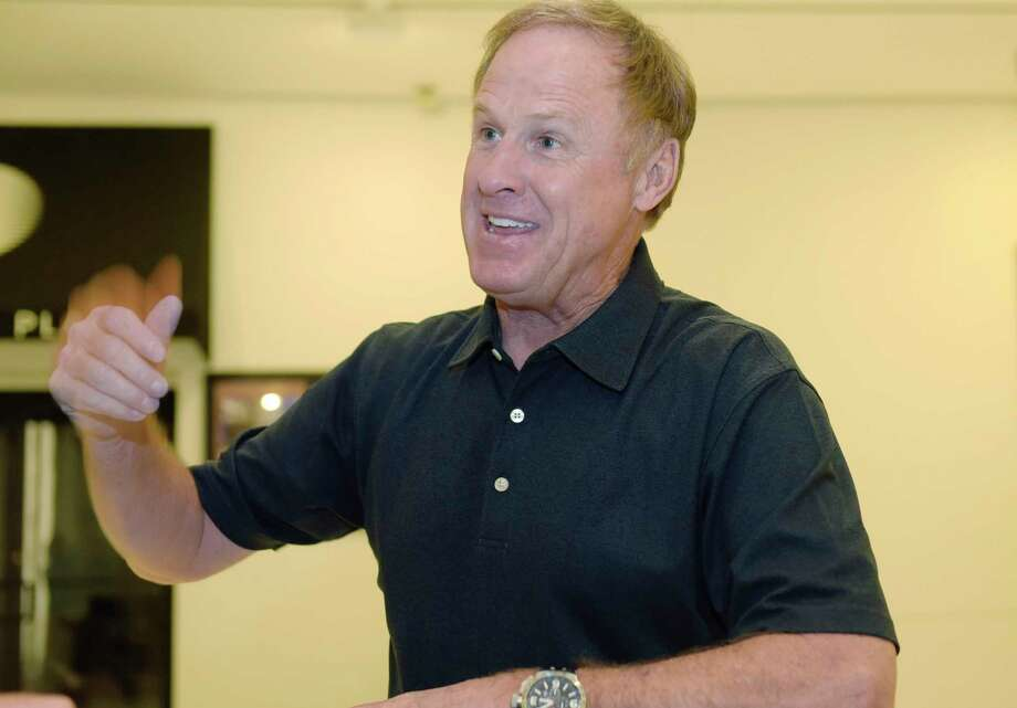 Rusty Wallace talks about racing during an interview on the concourse level of the Empire State Plaza on Thursday, July 27, 2017, in Albany, N.Y.   (Paul Buckowski / Times Union) Photo: PAUL BUCKOWSKI / 20041146A