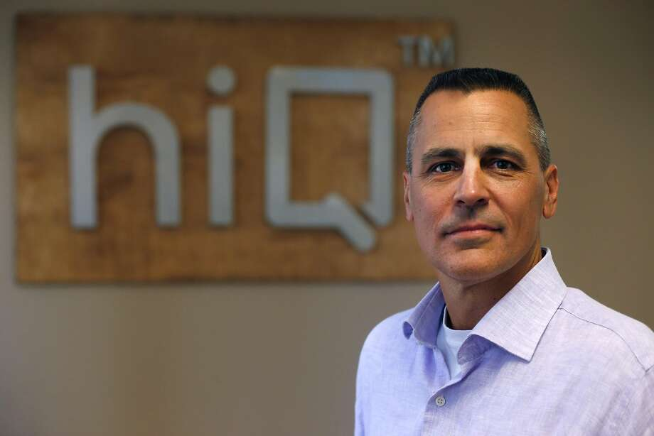 Mark Weidick, CEO of data analytics startup HiQ, is battling LinkedIn in court. Photo: Paul Chinn, The Chronicle