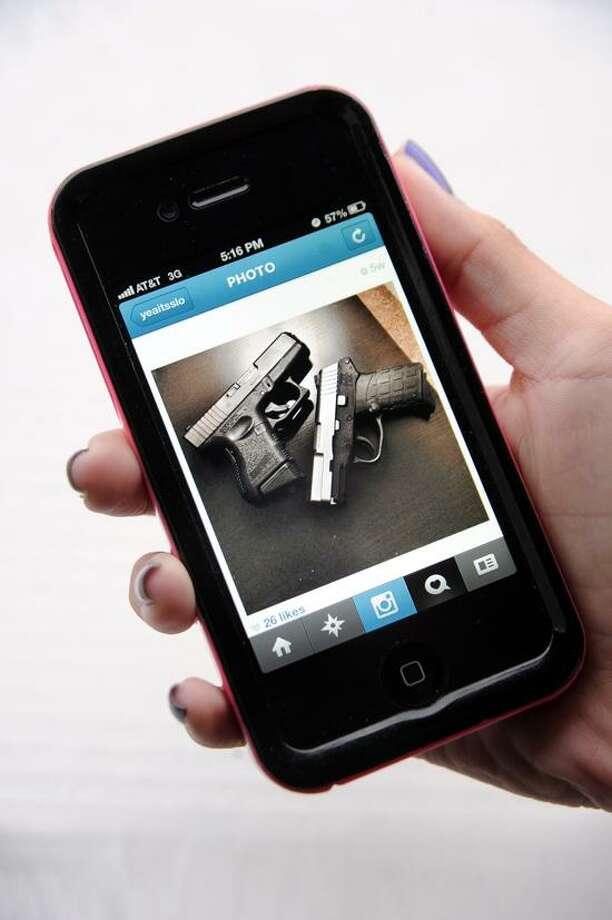 Instagram as sent out by an unidentified Intsagram user. VM Williams/Register