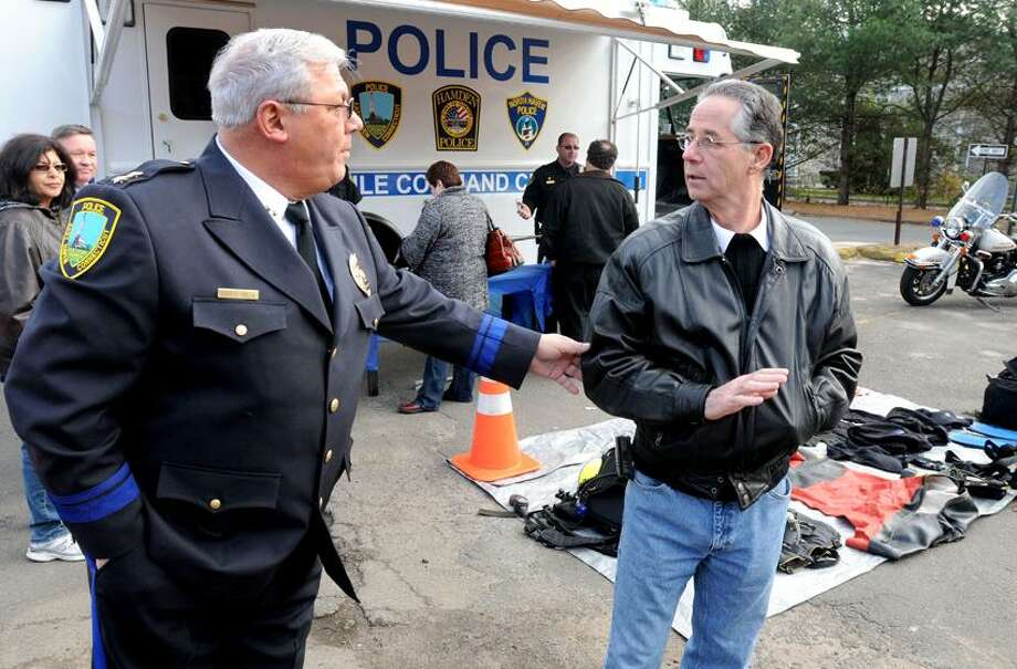 New Haven Register file photo. East Haven Mayor Joseph Maturo said Friday he would not fire Police Chief Leonard Gallo, and will allow Gallo to retire.