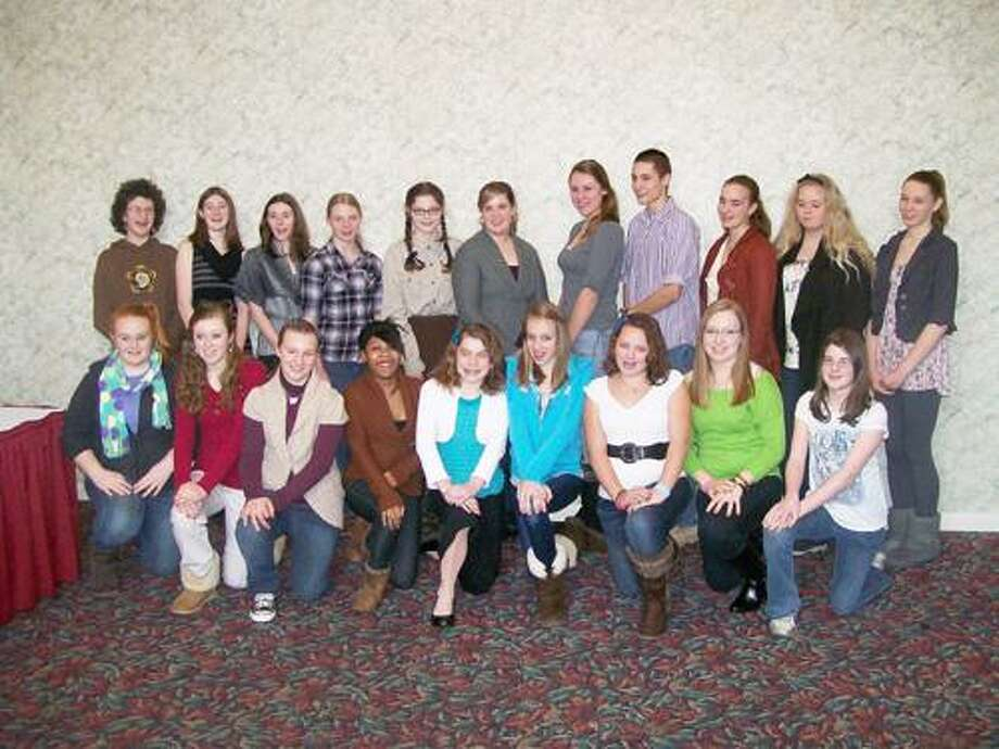 Photo Courtesy MADISON COUNTY 4-H 4-H members from Madison County Awards and Recognition Brunch held Saturday, Jan. 21.