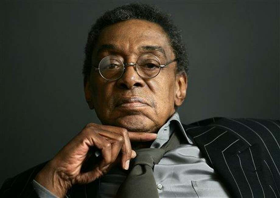 """This 2006 file photo shows Don Cornelius at his office in Los Angeles. Cornelius, creator of the long-running TV dance show """"Soul Train,"""" shot himself to death Wednesday morning at his home in Los Angeles, police said. He was 75. Associated Press Photo: ASSOCIATED PRESS / AP2006"""