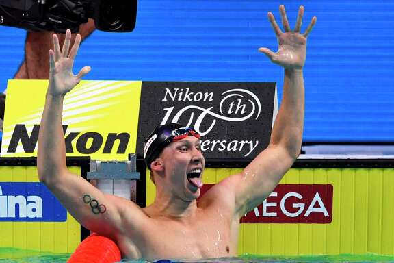 Chase Kalisz extended the United States' rule in the 200 individual medley, with the Americans now having won the event at eight consecutive world championships.