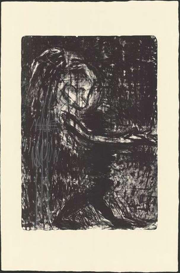 """Susan Rothenberg, """"Black Water"""""""