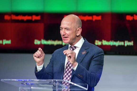 Amazon founder and Washington Post owner Jeff Bezos, 53, became the first billionaire to build a 12-figure net worth since 1999, when Microsoft Corp. co-founder Bill Gates hit the mark.