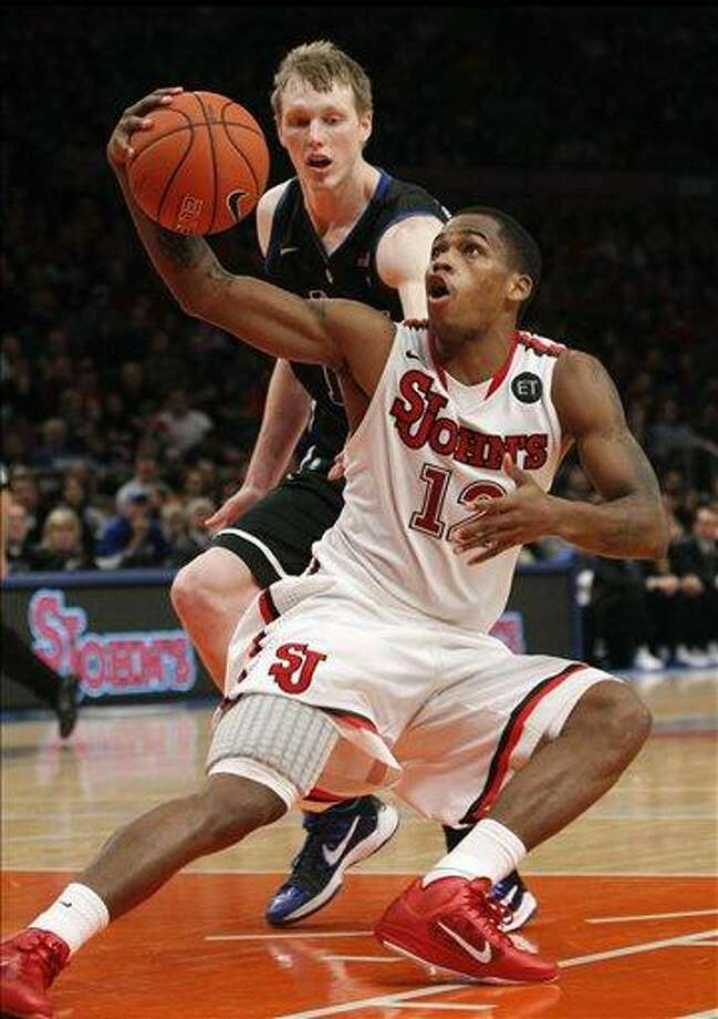 St. John's rout of No. 3 Duke shows just how deep the Big East is this season.(AP Photo/Kathy Willens) Photo: ASSOCIATED PRESS / AP2011