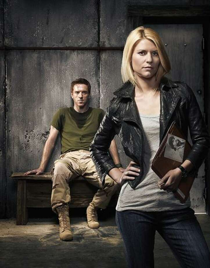 """Showtime: Damian Lewis as Scott Brody and Claire Danes as Carrie Anderson in """"Homeland."""" / Copyright:Showtime 2011"""