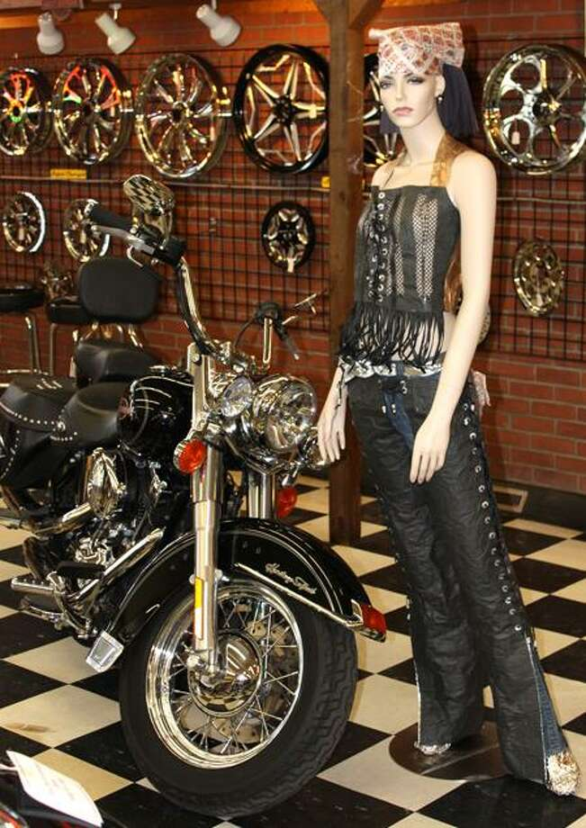 Contributed photo: Paper fashions will be worn by live mannequins Saturday at Mattatuck Museum.