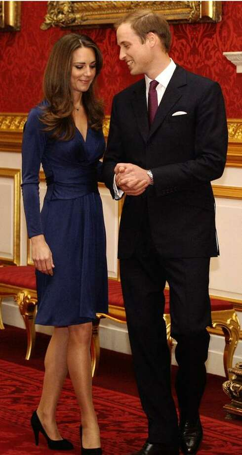 Britain's Duchess and Duke of Cambridge, Kate and William, will visit Canada and the U.S. in June and July. (Associated Press) Photo: ASSOCIATED PRESS / AP