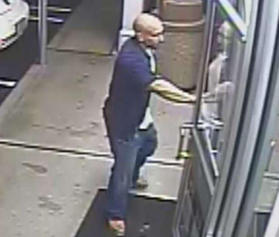 Another surveillance photo shows Milford assualt suspect.