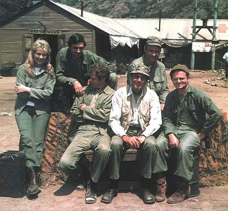 "The early cast of ""M*A*S*H."""