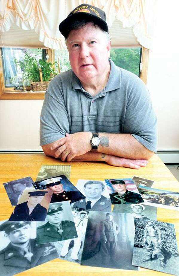 James Boyle of North Haven has researched his extended family's history of military service. He served during the Vietnam War.