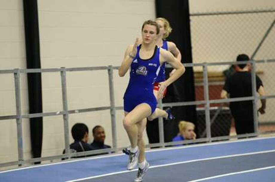 University of New Haven senior Shannon Gagne captured the NCAA Division II title in the 200 and 400 meters in the outdoor track and field championships at Turlock, Calif. Saturday night. (Contributed photo)