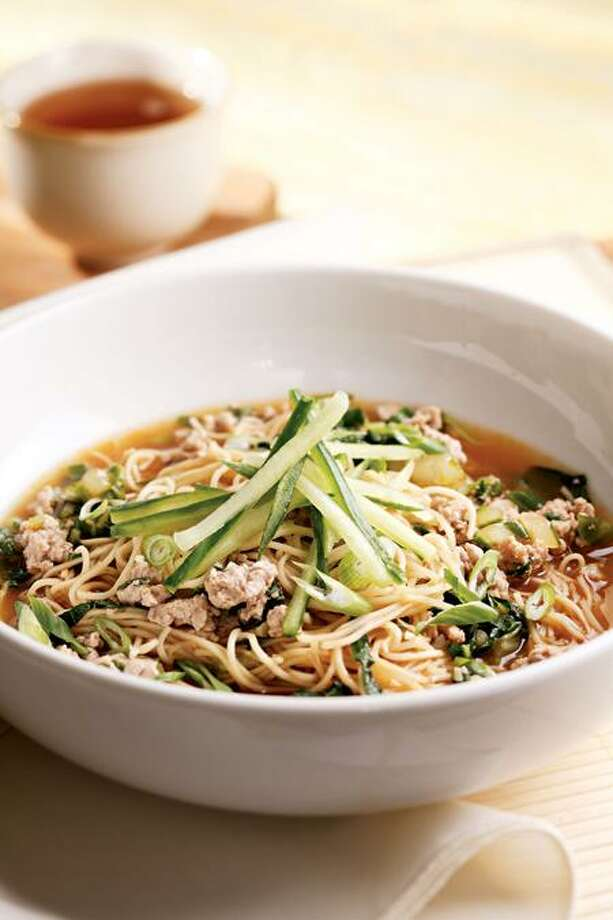 Brothy Chinese Noodles. Photo: Ken Burris/EatingWell