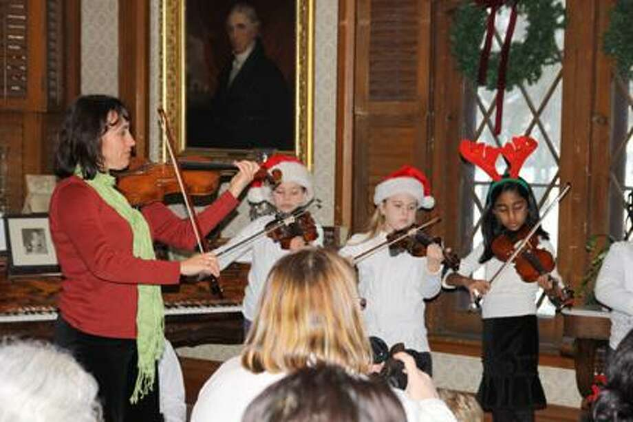 Submitted PhotoIryna Juravich's String Quartet will be performing at this year's Madison County Historical Society's Christmas Open House on Dec. 11.
