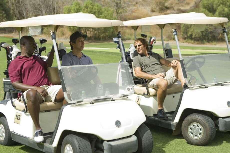 """From left, Andre Braugher, Ray Romano and Scott Bakula in """"Men of a Certain Age."""" / Copyright,TURNER BROADCASTING INC , LLC All Rights Reserved"""