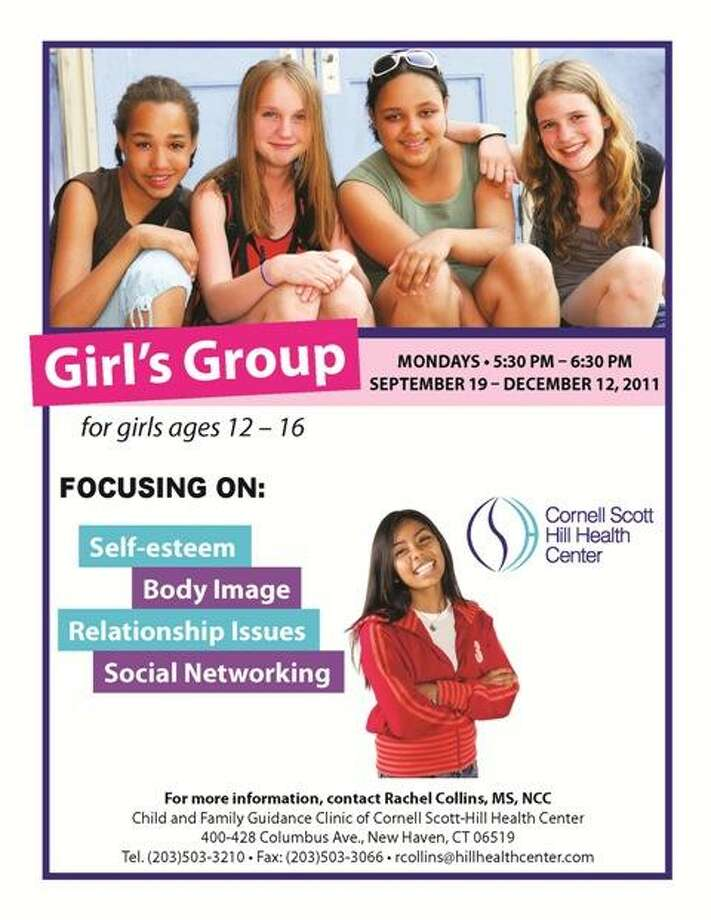 The new flier for Hill Health Center's body image class shows girls of varied ethnicity, following outcry over the original poster, which only showed a Caucasian girl