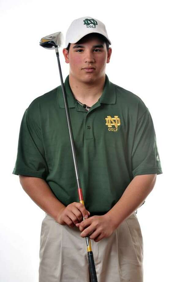 Male Athlete of the Week, Anthony Astorino of the Notre Dame-West Haven golf team.   Melanie Stengel/Register
