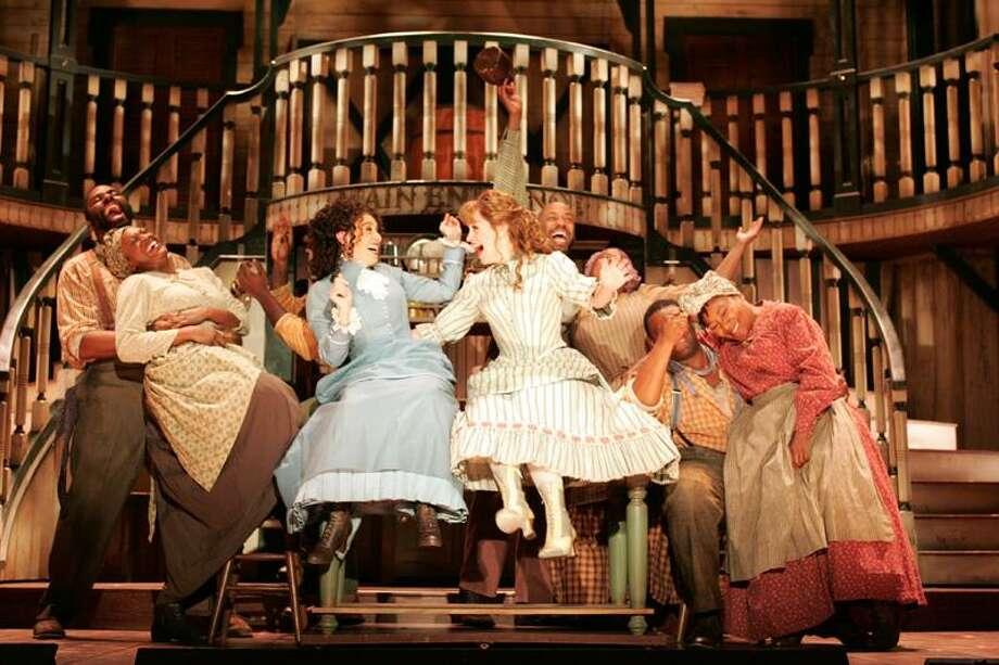 "Diane Sobolewski: The cast of ""Show Boat"" in one of its many production numbers. / ©2011 Diane Sobolewski"