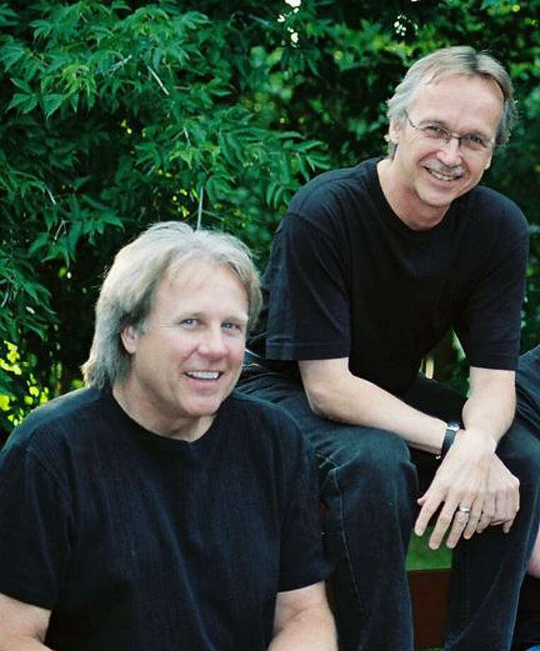 Submitted Photo Blues Frees the Spirit musicians/composers John Hutson and Monk Rowe.