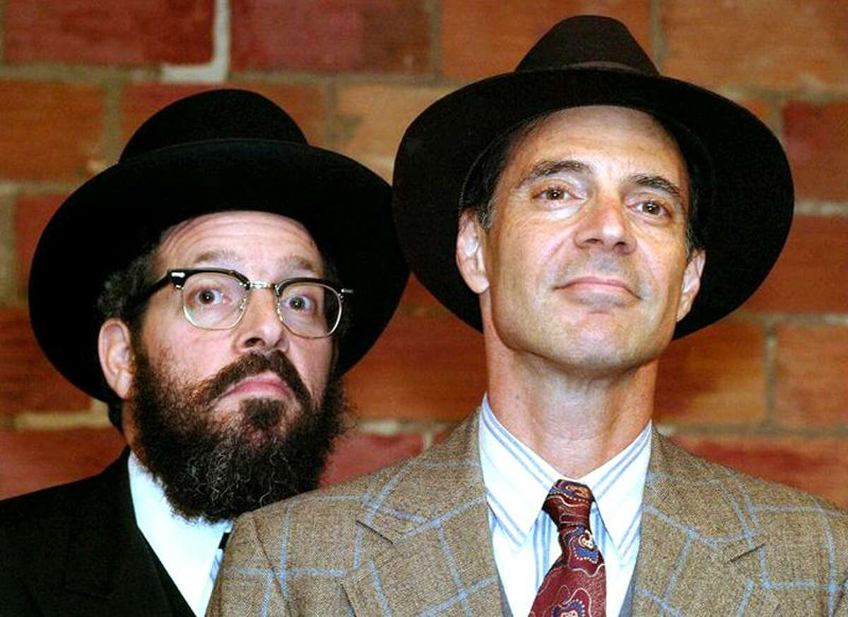 """Ira Machevsky: Reuven Russell, left, and Sam Guncler, have agreed to disagree in """"The Quarrel,"""" which they'll perform Sept. 18 at Long Wharf Theatre."""