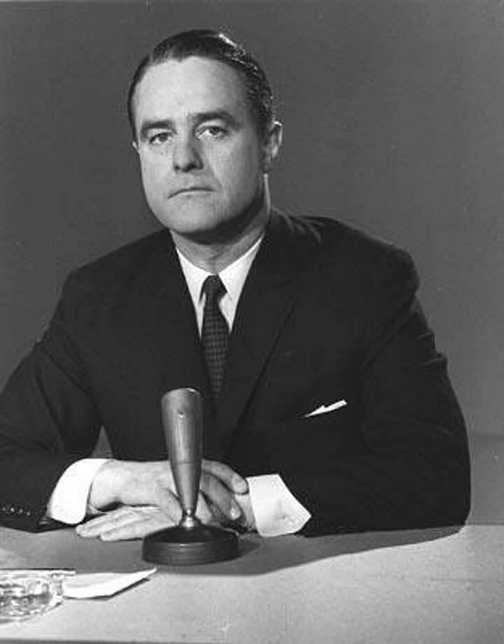 """FILE - This March 22, 1964 file photo shows R. Sargent Shriver, then chief of President Lyndon Johnson's anti-poverty program, on NBC's """"Meet the Press"""" in Washington. Shriver, the exuberant public servant and Kennedy in-law whose singular career included directing the Peace Corps, fighting the """"War on Poverty"""" and, less successfully, running for office, died Tuesday, Jan. 18, 2011.  He was 95. (AP File Photo) Photo: AP / AP1964"""