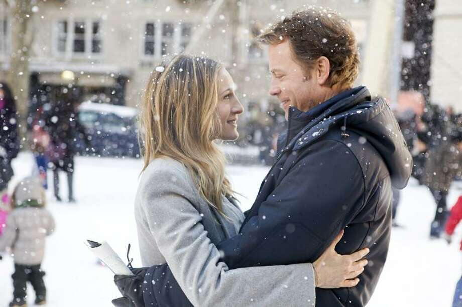"Sarah Jessica Parker and Greg Kinnear star in ""I Don't Know How She Does It."" Photo: ©2011 The Weinstein Company, All / ©2011 The Weinstein Company, All Rights Reserved"