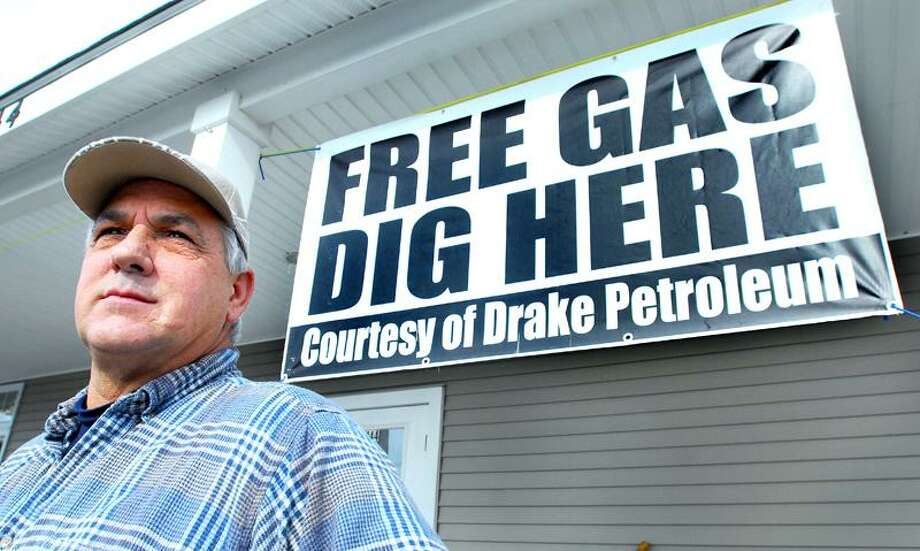 Jeff Fulcher, co-owner of the Hammonasset RV and Camp Center at 144 Boston Post Rd. in Westbrook, is involved in a court case against Drake Petroleum over contamination from an Xtra Mart that borders his business. Arnold Gold/Register